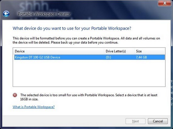Windows 8 to feature USB-runnable Portable Workspaces, sales of 16GB thumb drives set to soar