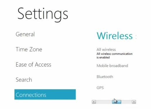 Latest Windows 8 settings page hints at tablet compatibility, Metro scrollbars? (video)
