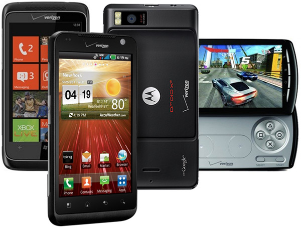 Verizon: Droid X2, Revolution, Trophy, and Xperia Play