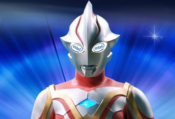 Ultraman + Intel