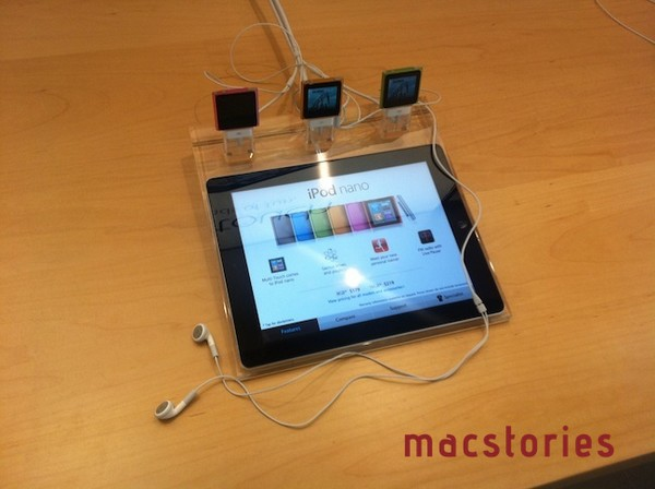 Apple Store celebrates 10th anniversary with 2.0 experience, iPads locked in lucite