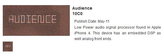 Audience noise cancelling said not to feature in next iPhone