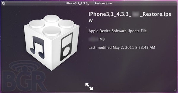iOS 4.3.3 Rumored to be Coming Within Next 2 Weeks