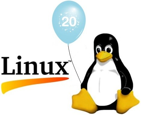 Linux 20周年