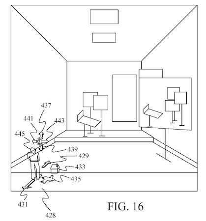 Microsoft Patent Details 3D Desktop Interface with a Room for Your Windows