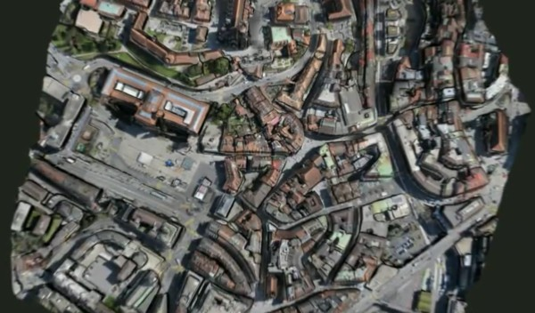 turns your 2D aerial photographs into 3D maps