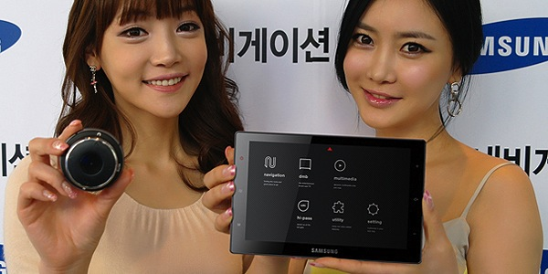 Samsung SENS-240 Navigation Tablet is strange and familiar