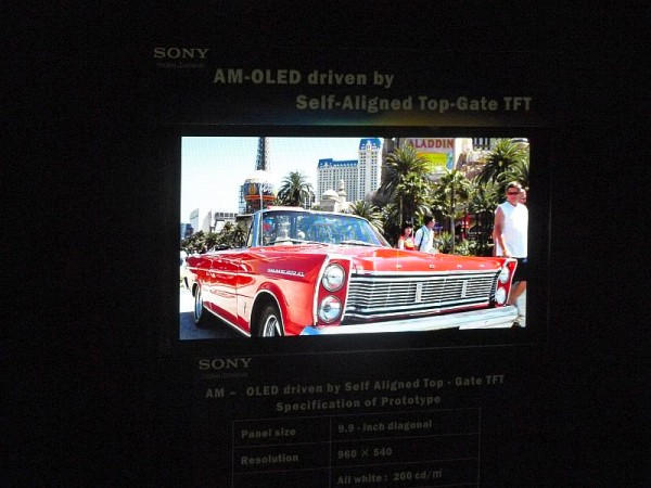 Sony New OLED Display Promises Higher Quality Images, Glitch-free Brightness