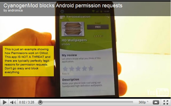 New CyanogenMod lets you rule Android app permissions with an iron fist
