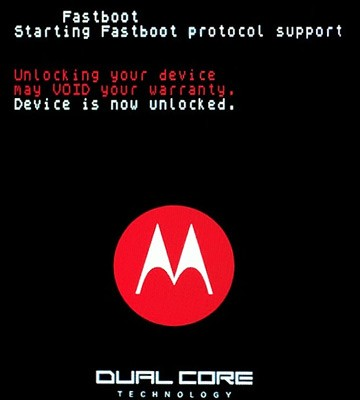 Motorola Atrix 4G unlock screen