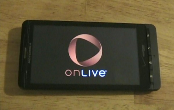 OnLive Viewer Droid X