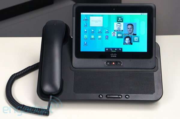 Cisco Cius tablet hands-on