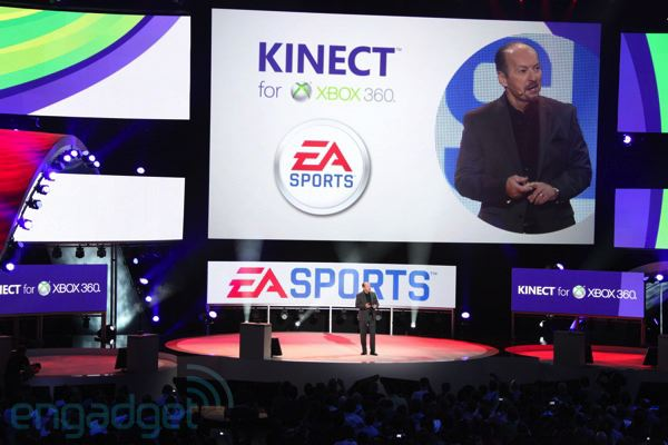 EA Sports with Kinect