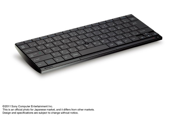 Japan scores official bluetooth ps3 keyboard for 165 5 000