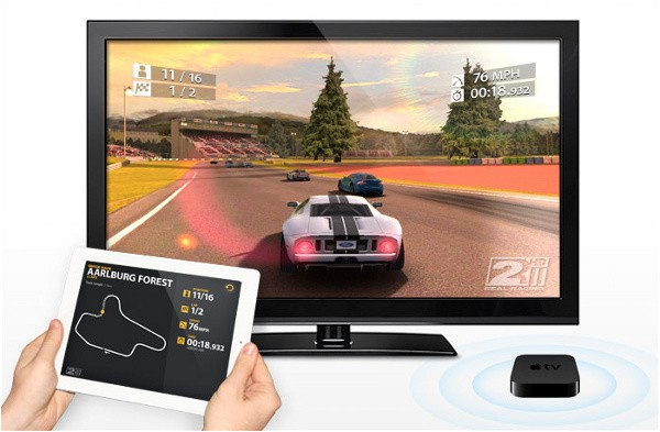 Real Racing 2 HD AirPlay