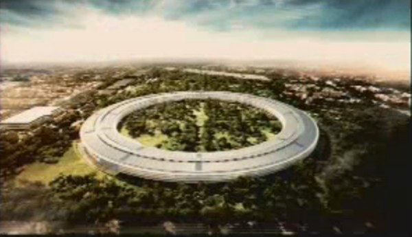 apple hq proposal Steve Jobs reveals Apples new spaceship campus, calls it the best office building in the world (video)