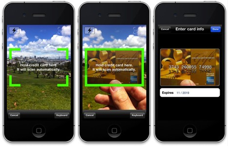 Card.io SDK takes swipe at competition with camera-enabled mobile payments (video)