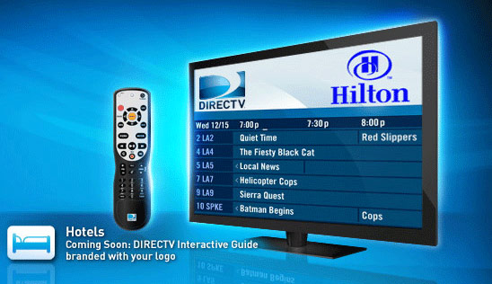 DirecTV DVRs available in over 100 hotels