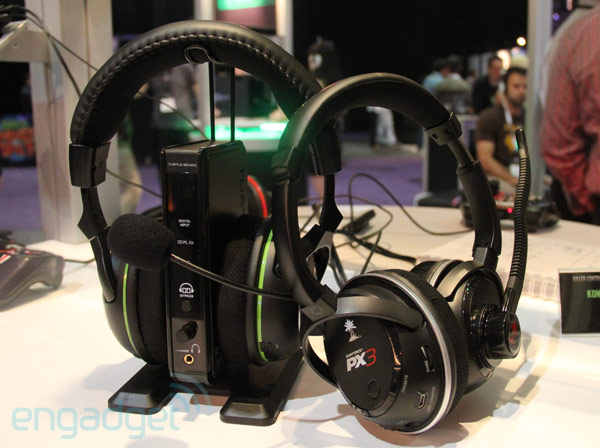 Turtle Beach XP600 and PX3 gaming headsets hands on