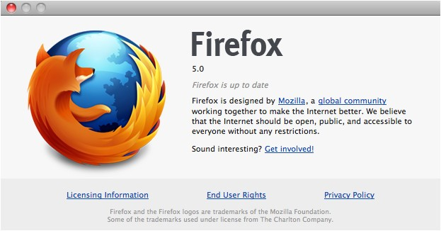 Firefox 5 slips out ahead of schedule, gets official June 21st