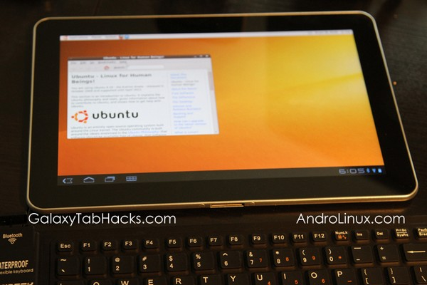 Ubuntu demonstrated running on Galaxy Tab 10.1, summarily dubbed 'Tabuntu' (video)
