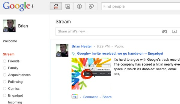 What do you think of Google+?