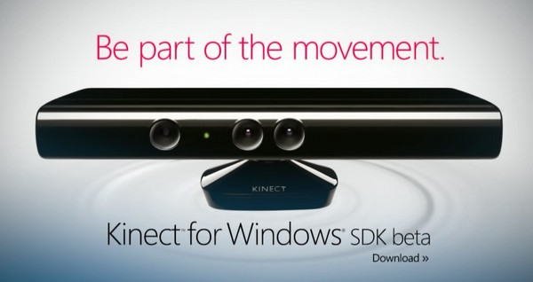 Kinect für Windows geht mit SDK-Beta an den Start
