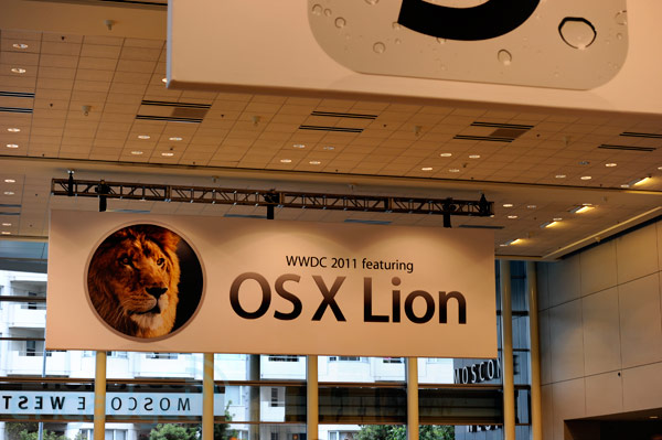 WWDC 2011 liveblog: iOS 5, OS X Lion, iCloud and more! (osx lion wwdc 2011 banner)