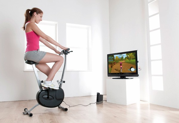 Wii Cyberbike Gives You A Workout Costs More Than The System Itself