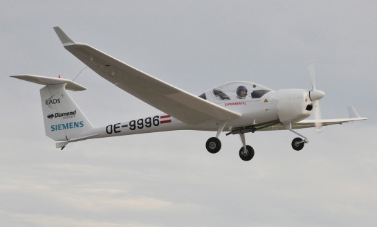 Siemens DA36 E-Star glider takes serial hybrid to new heights