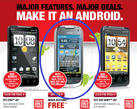 Radioshack sucks at OS recognition: close, but no Android