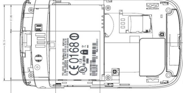 BlackBerry Torch 2 FCC