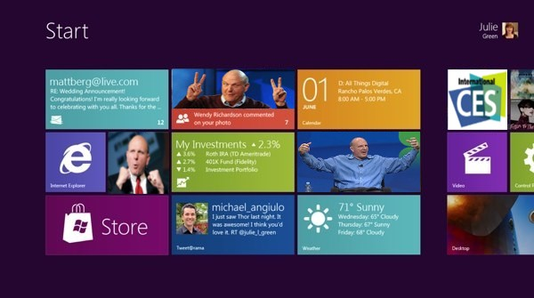 Windows 8 and Steve Ballmer