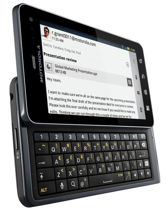 Motorola Droid 3 up for order, helps to usher in Verizon's new data plans