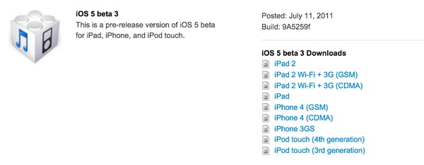 iOS 5 beta 3 comes out of the oven, brings new fixes and toggles to the table