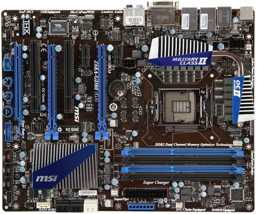MSI unveils Z68A-GD80 (G3) PCI Express 3.0 mainboard
