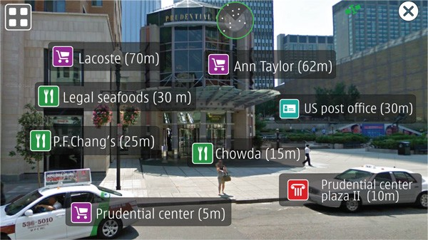 Nokia's Live View AR app reveals what's nearby, how to socially ostracize yourself in public