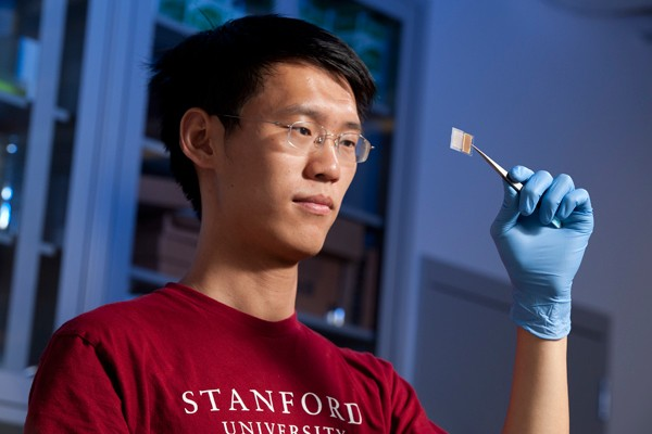 Yuan Yang and a Transparent Battery