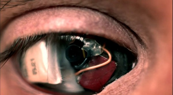 Tech News :Deus Ex: The Eyeborg Documentary| New Eye Camera Technology For Filmmakers