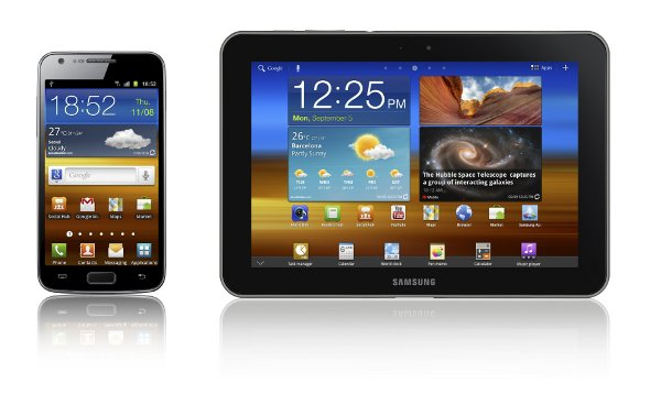 Galaxy S II LTE and Galaxy Tab 8.9 LTE