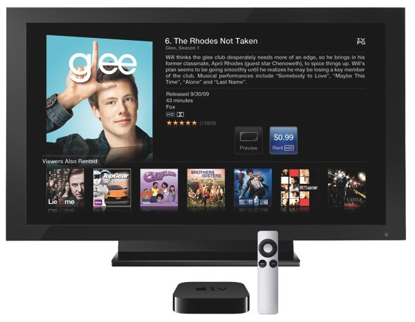 Apple Stops Renting TV Shows in iTunes