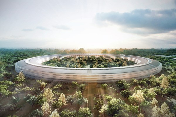 Visualized: the Apple mothership