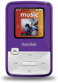 SanDisk Sansa Clip Zip MP3 Player