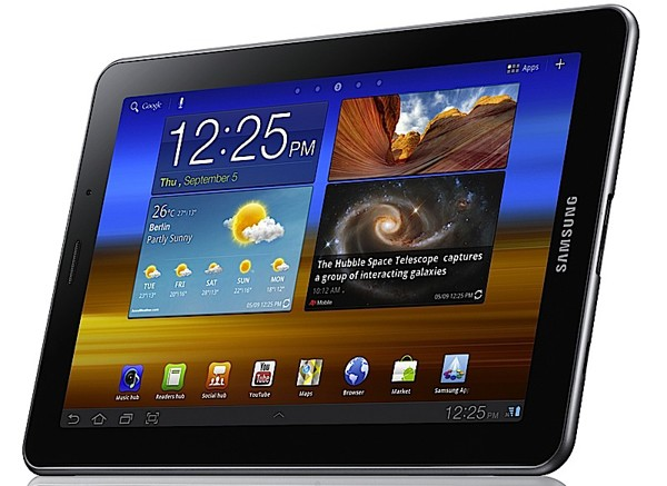 Samsung Galaxy Tab 7.7 official: dual-core 1.4GHz CPU, Android 3.2