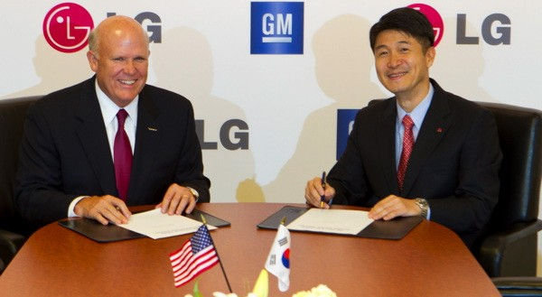 LG and GM to Build Next Generation of Electric Cars