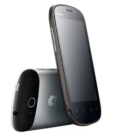 Huawei Vision smartphone: Android 2.3, 1GHz CPU, unibody construction