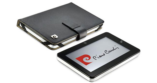 Pierre Cardin PC-7006 touts self as the UK's first 'designer tablet,' wears last season's Android