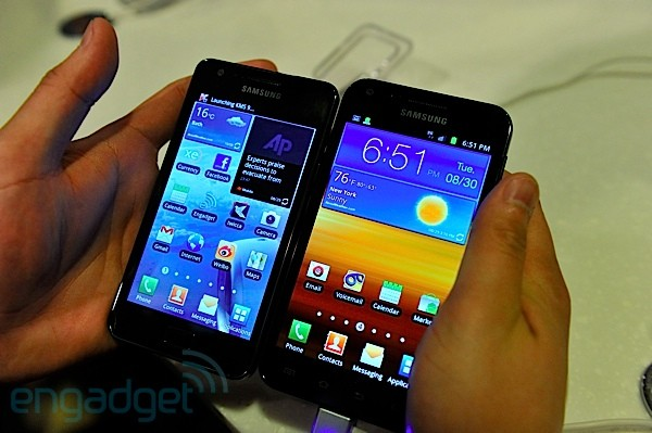 Galaxy S II for Sprint, AT&T, and T-Mobile hands-on