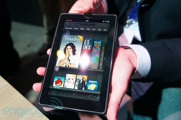Amazon Kindle Fire impressions (video)