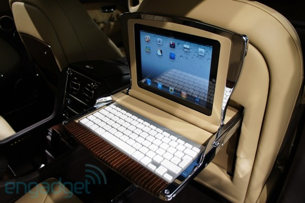 Bentley demos outrageous 100,000 euro, Executive dual-iPad interior for Mulsanne, we take a seat (video)